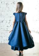 синее пышное платье на девочку