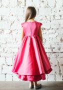 малиновое платье на девочку