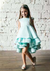 бірюзове платтячко на дівчинку