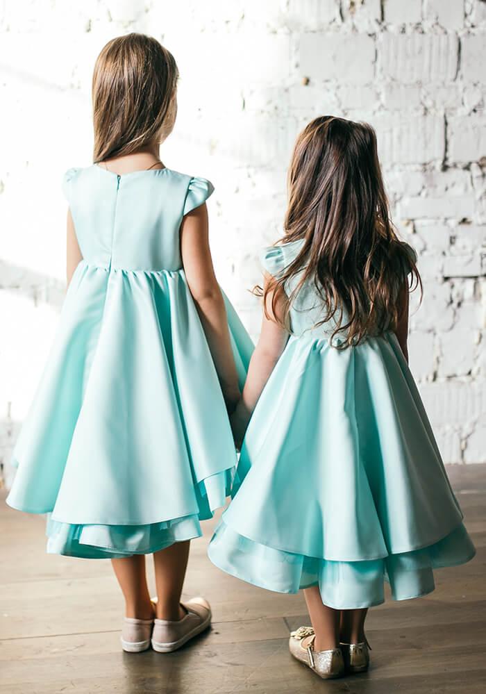 М'ятні платтячка на дівчаток - купити на сайті malyna.ua