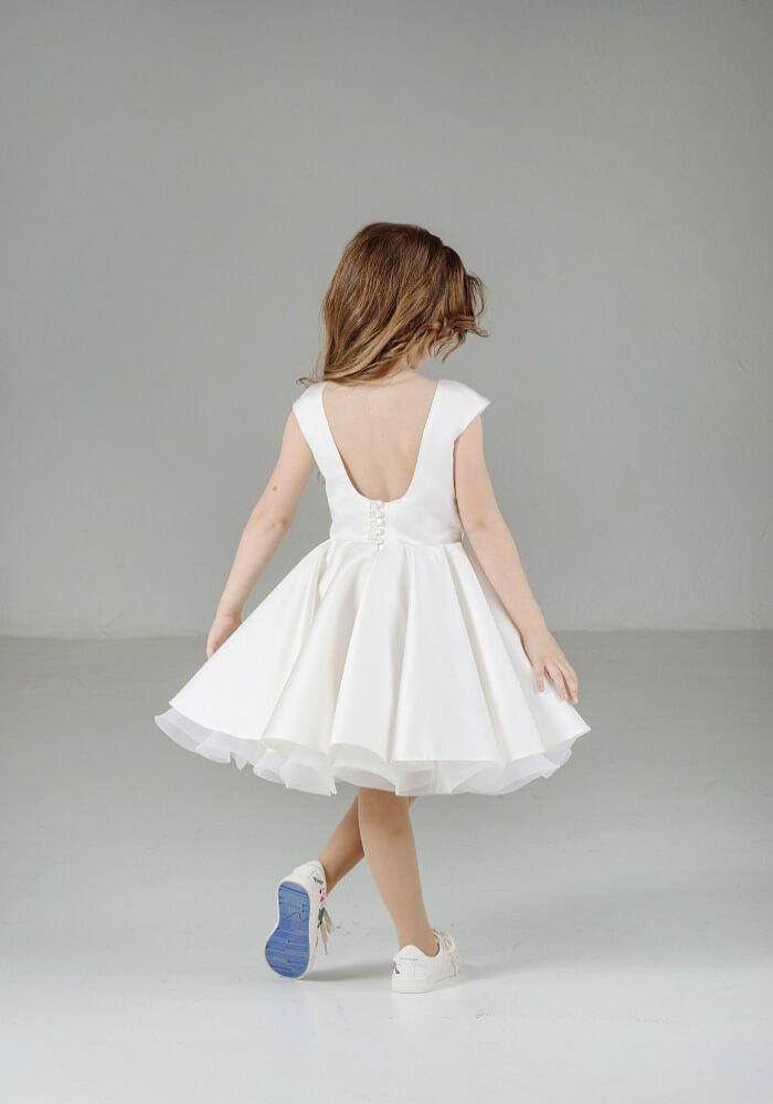 Біла святкова сукня на дівчинку на свято  купить нарядное белое платье на  девочку  Белое пышное платье на девочку ... 712558baf86ef