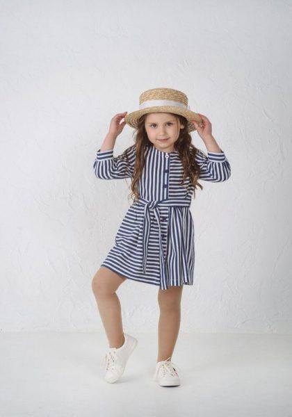 Літні сукні для дівчаток з котону