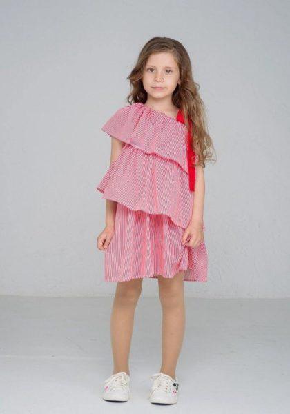 Літні сукні для дівчаток з котону - колекція літніх суконь для дівчаток в інтернет магазині дитячих платтячок malyna.ua