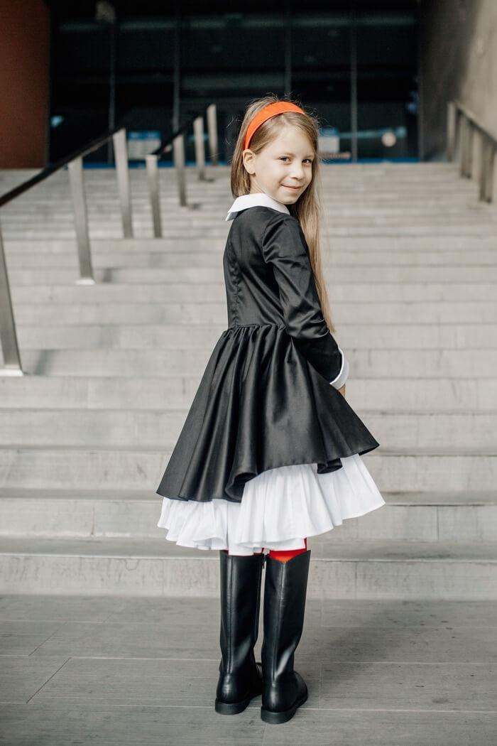 Коллекция школьных платьев для девочек - malyna.ua