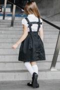 Чорний шкільний сарафан на дівчинку 6 років
