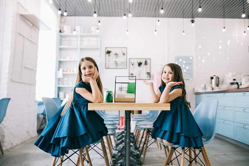 Темно синее платье на девочку - интернет магазин платьев