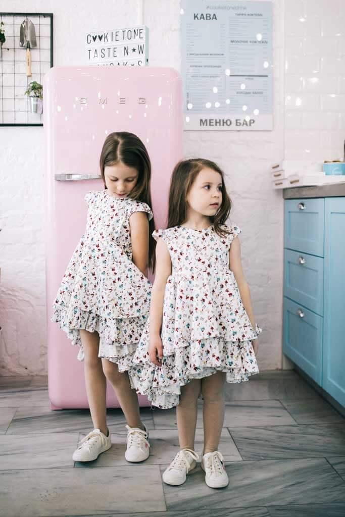 Летние платья на девочек