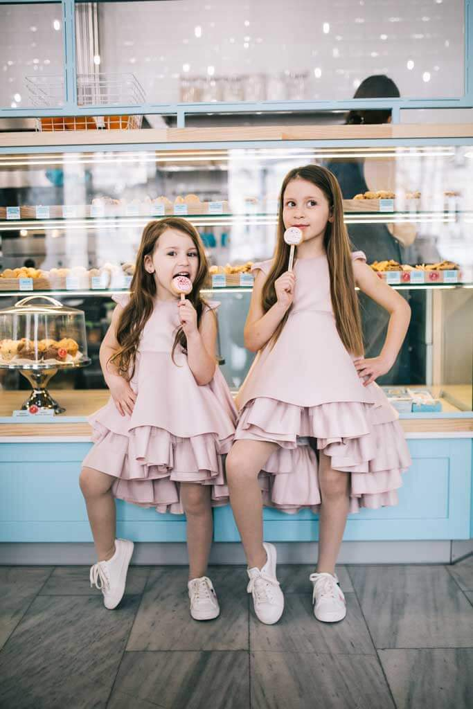 Нежные платья на девочек на разные мероприятия