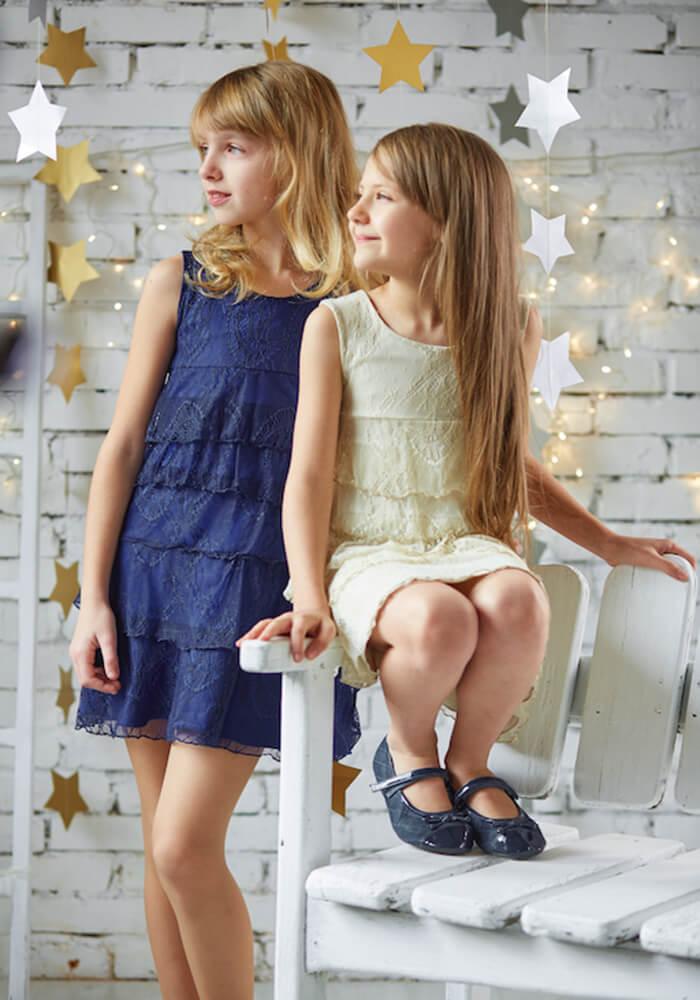 Вечерние платья на девочек