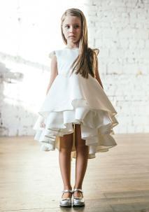 белое нарядное платье на девочку