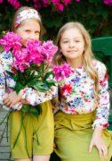Очаровательные блузы на девочек