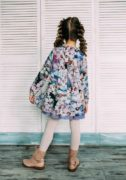 сукня в квіточки блакитного кольору