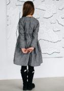 Теплое платье на девочку