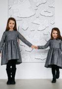 Колекція осінніх теплих платтячок на дівчаток - інтернет магазин дитячих суконь Malyna