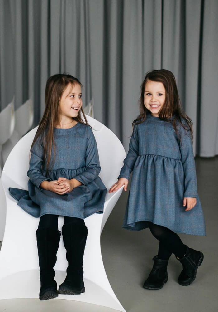 Чарівні осінні сукні на дівчаток до 12 років