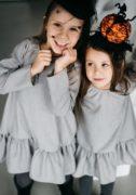 сіре плаття на дівчинку