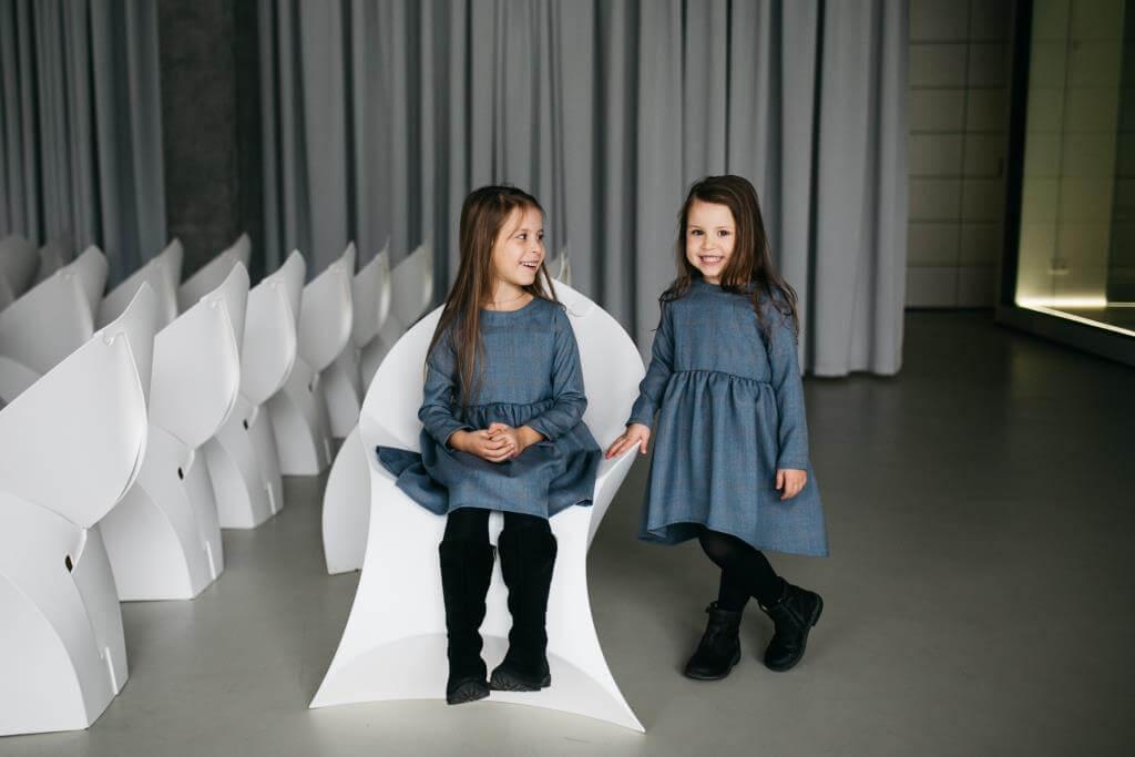 Красивые теплые платья на девочек