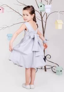 Платье с бантом на девочку