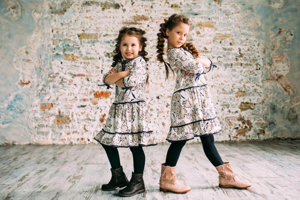 Сукні з квіточками для дівчаток Malyna