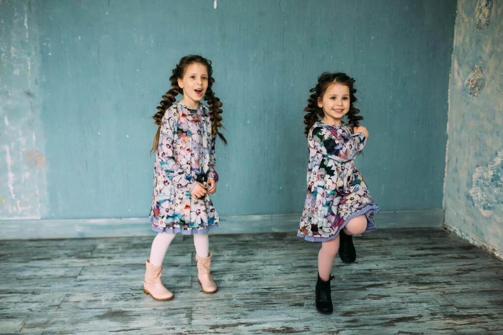 Весняні платтячка для дівчаток