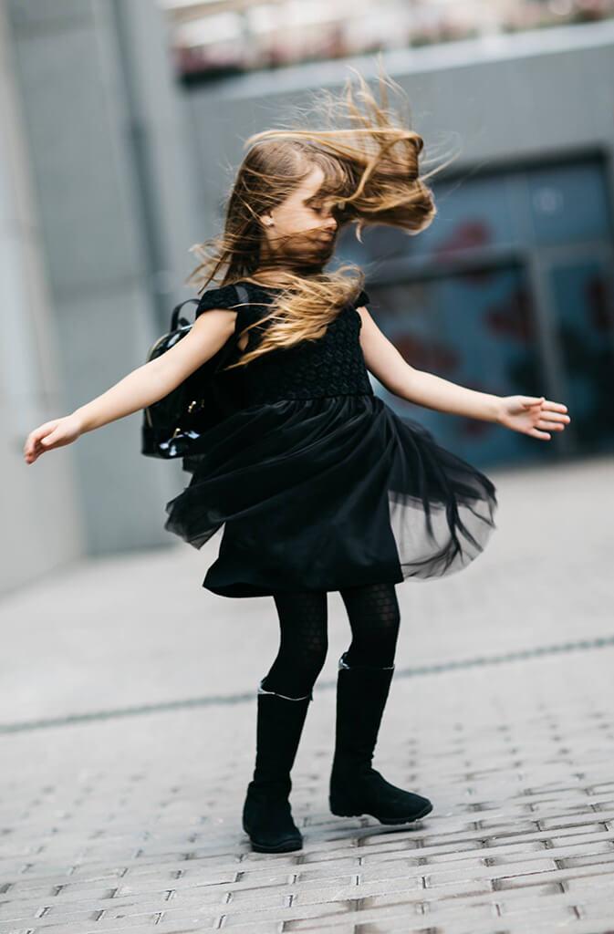 Платья на девочек разных фасонов