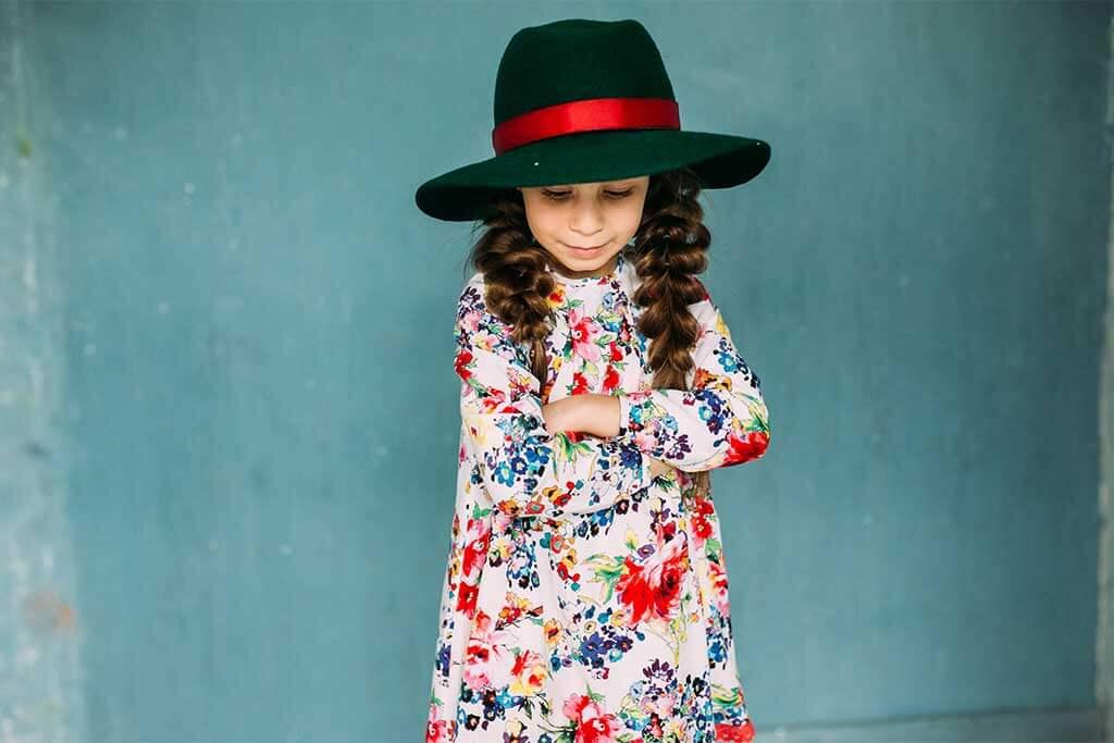 Весеннее платье на девочку