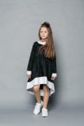 Красива шкільна форма на дівчаток - чорного, синього кольору - інтернет магазин шкільного одягу для дівчаток malyna.ua