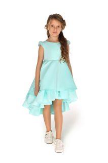 Святкове плаття на дівчинку м'ятного кольору