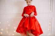 Червона сукня на дівчинку
