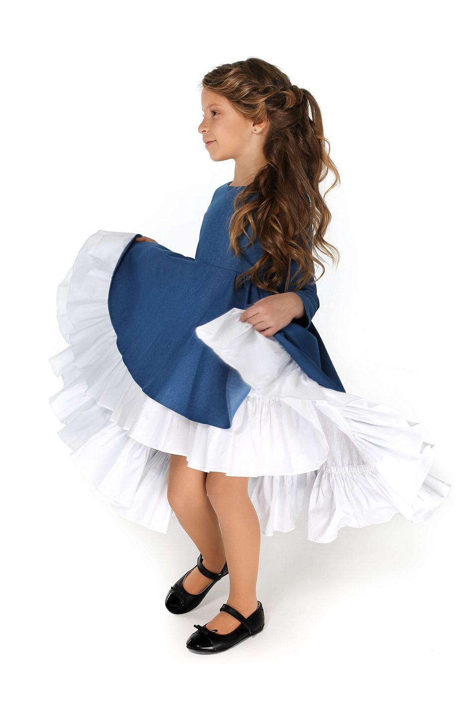 Красивые платья на девочек нарядные и школьные