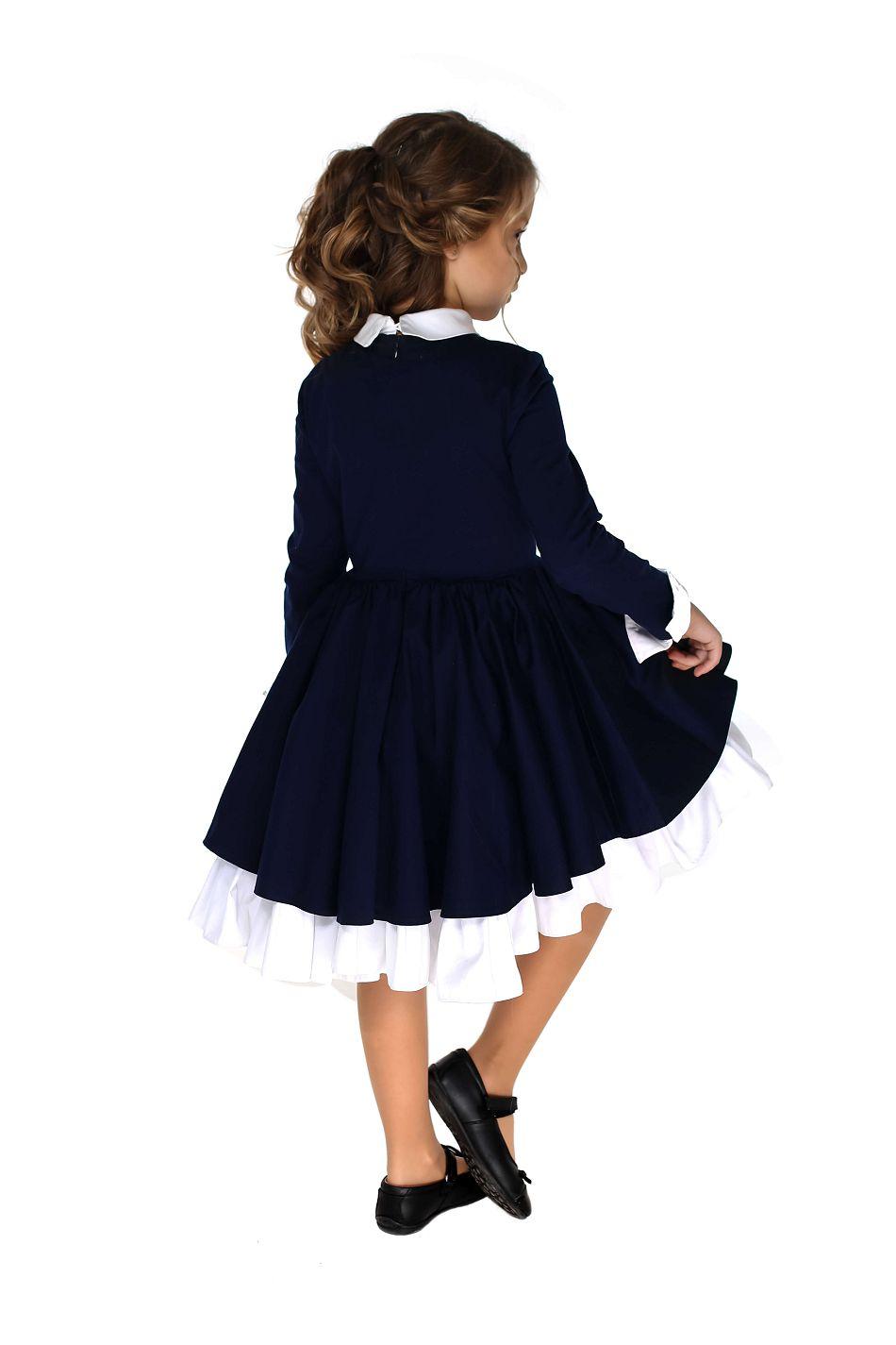 Красивое школьное платье девочке онлайн