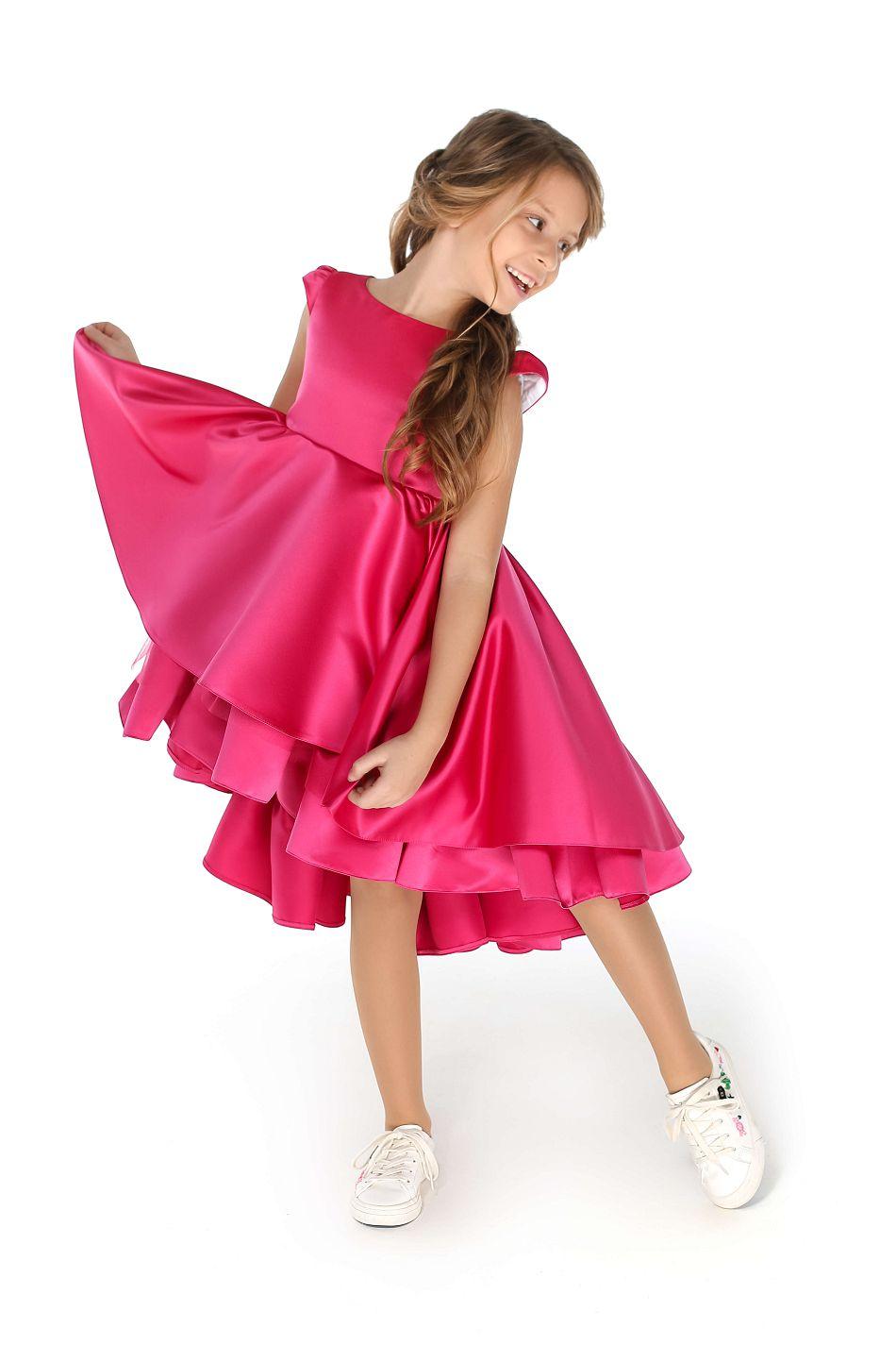 Рожеве плаття на дівчинку святкове