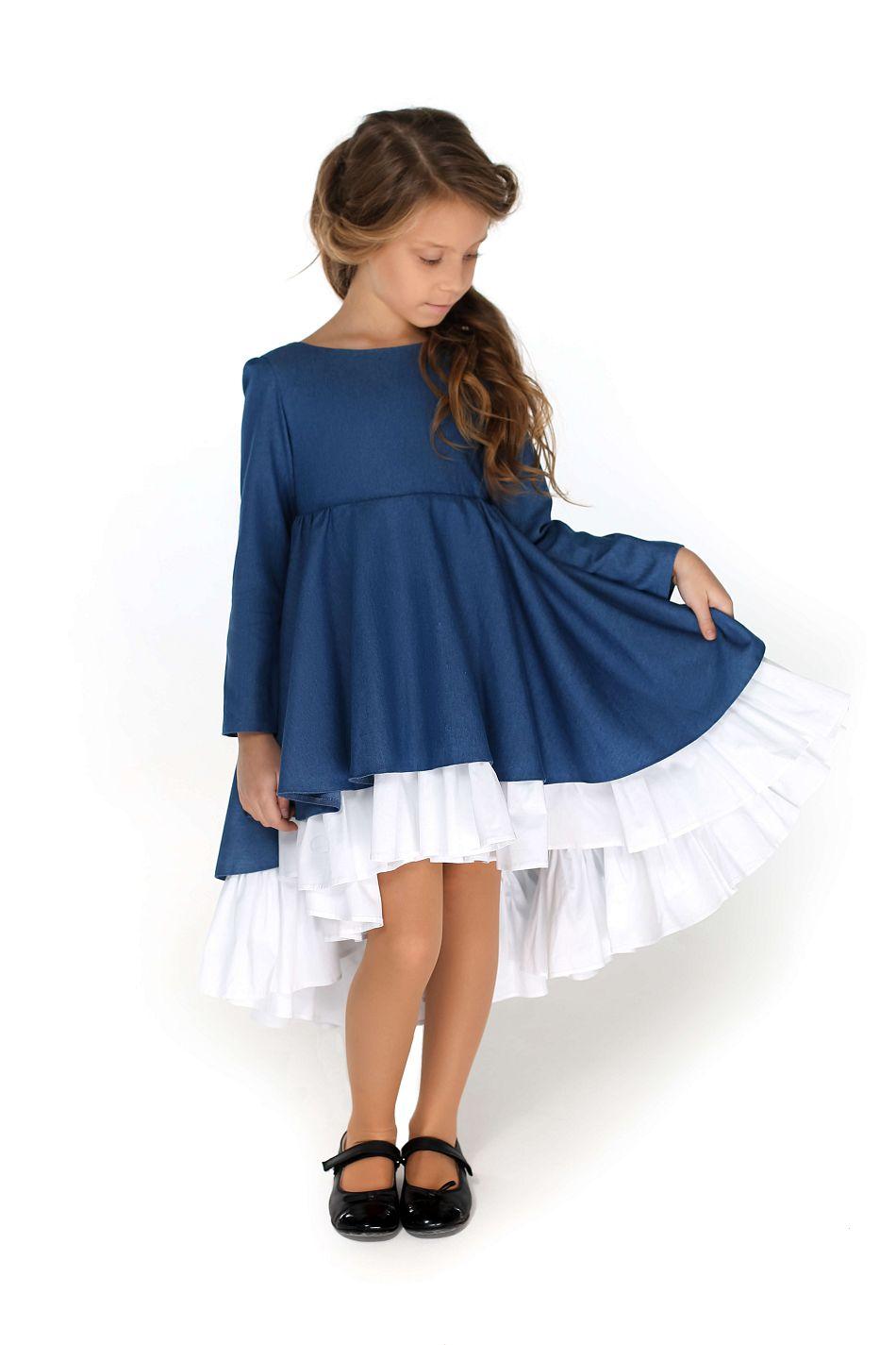 Красива шкільна сукня для дівчинки від Malyna