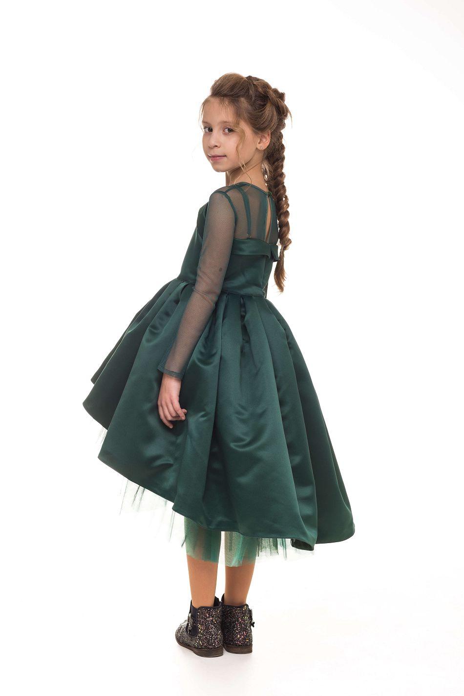 елегантное платье на девочку на бал