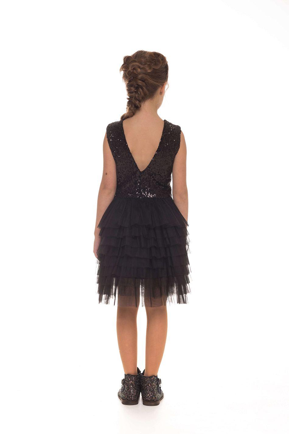 Стильное нарядное платье на девочку 9 лет
