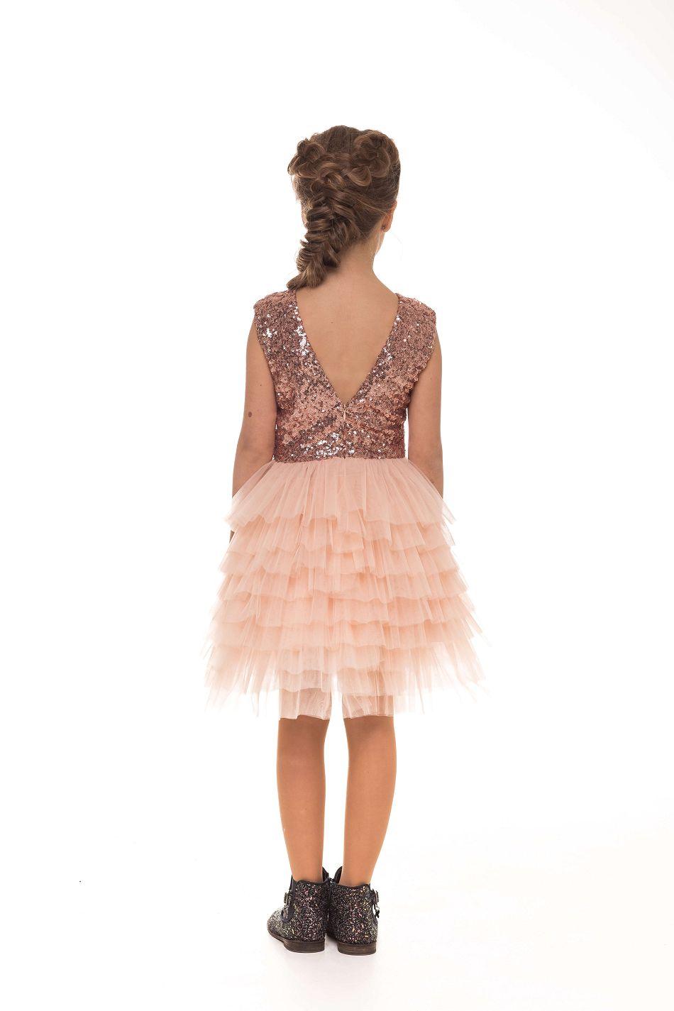 Нарядное платье на девочку 8 лет