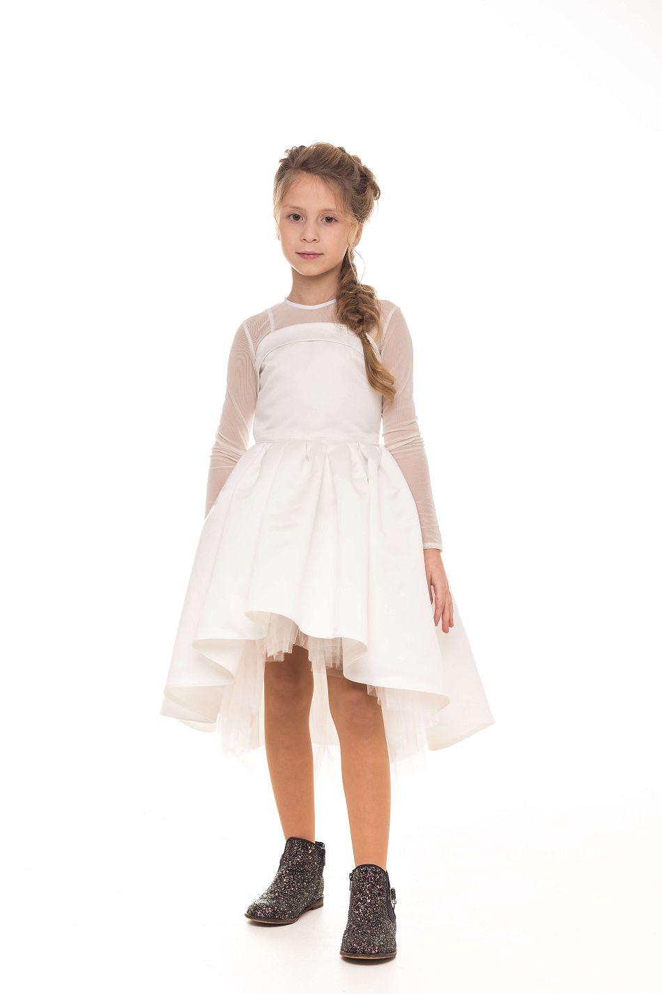 святкове біле платтячко на дівчинку
