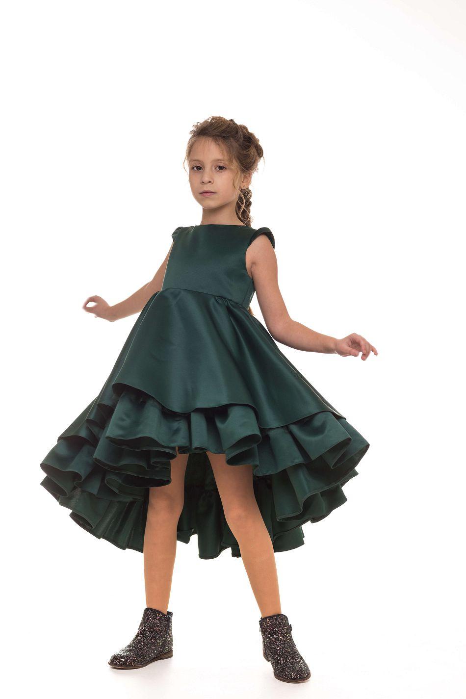 стильное нарядное платье девочке
