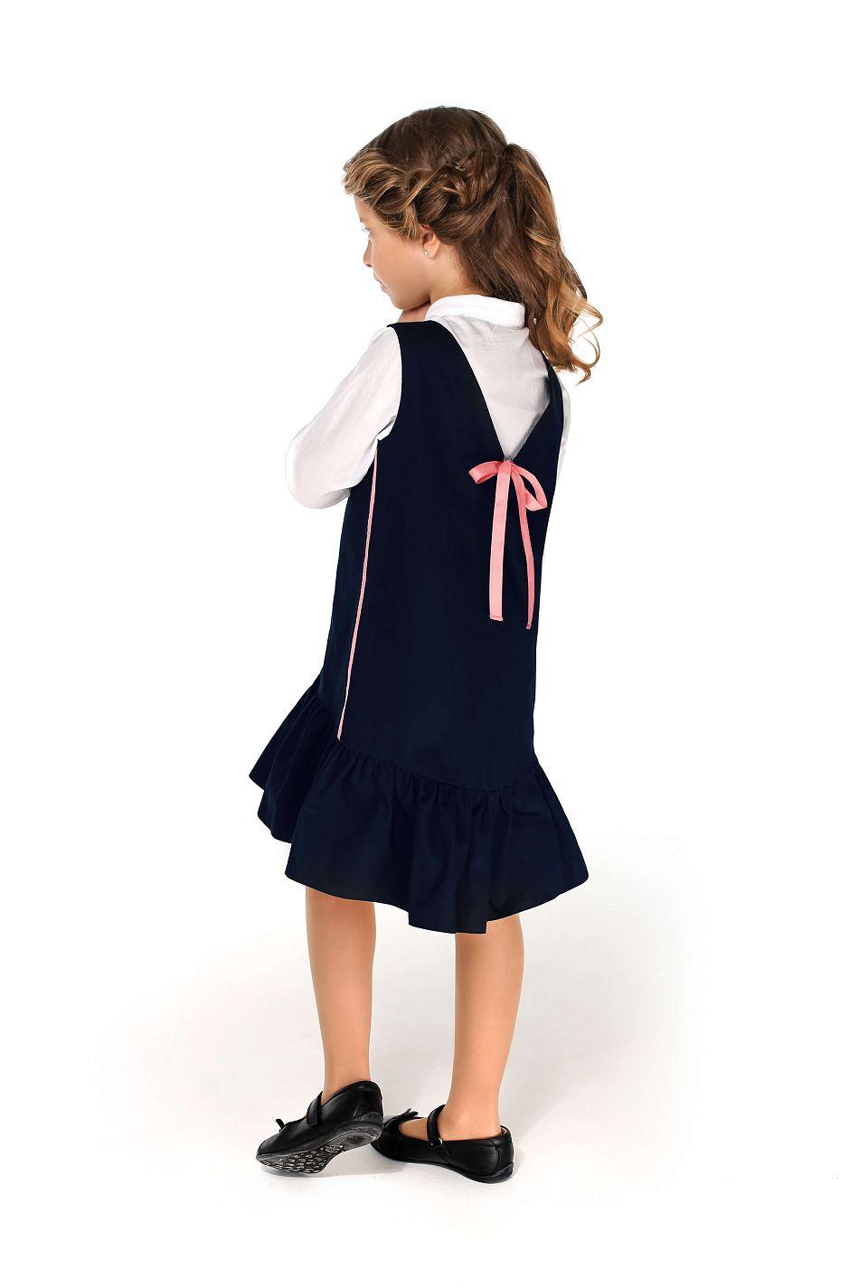 красивый сарафан школьный на девочку