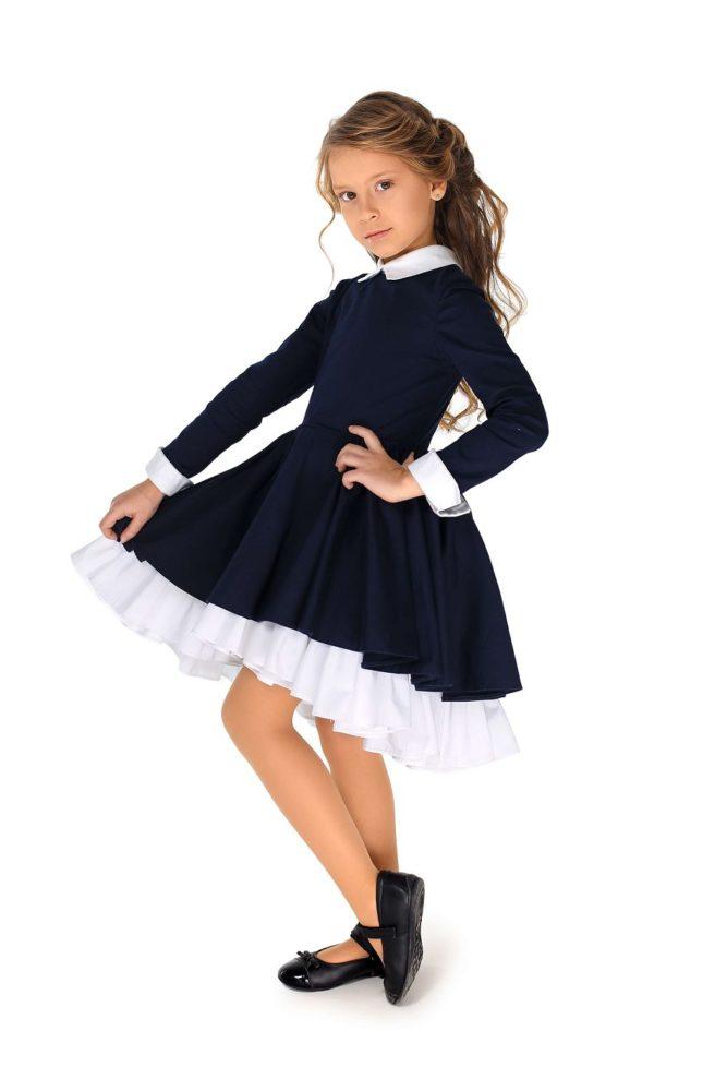 Красивые платья в школу для девочек