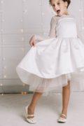 Біле пишне платтячко на дівчинку
