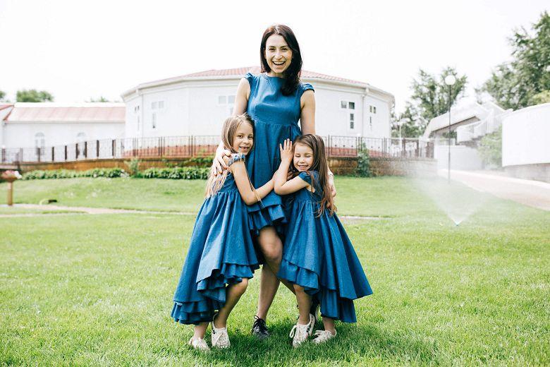 Сукні для мами та донечки