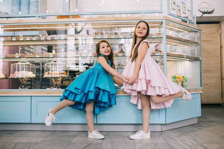 Нарядні плаття на дівчаток до 12 років