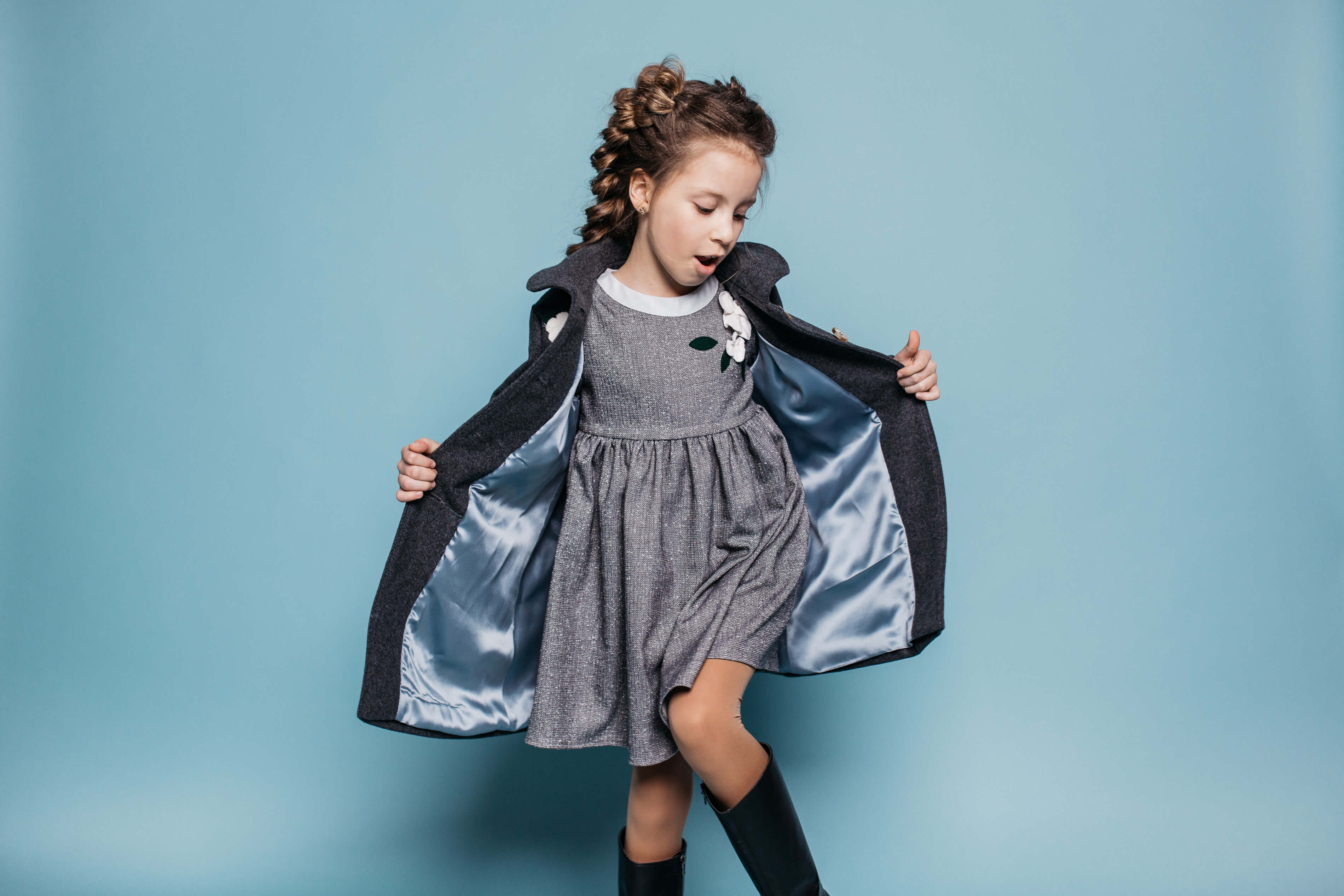 new coats and dresses for girls - new collection