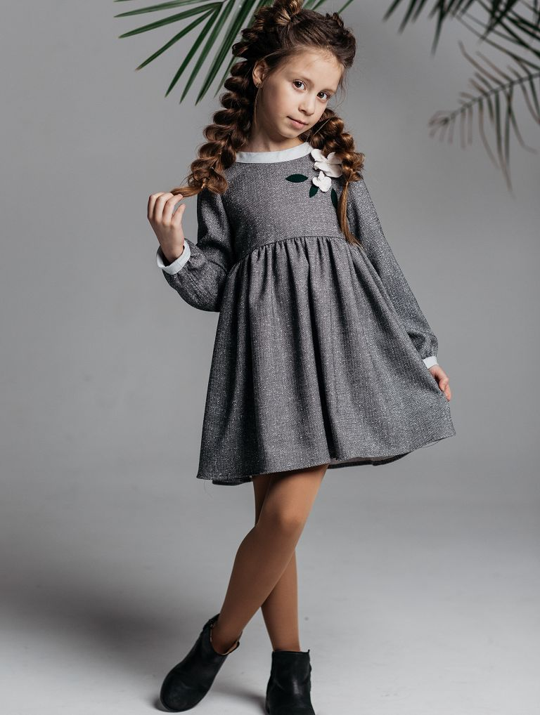 grey dress for girls - buy online
