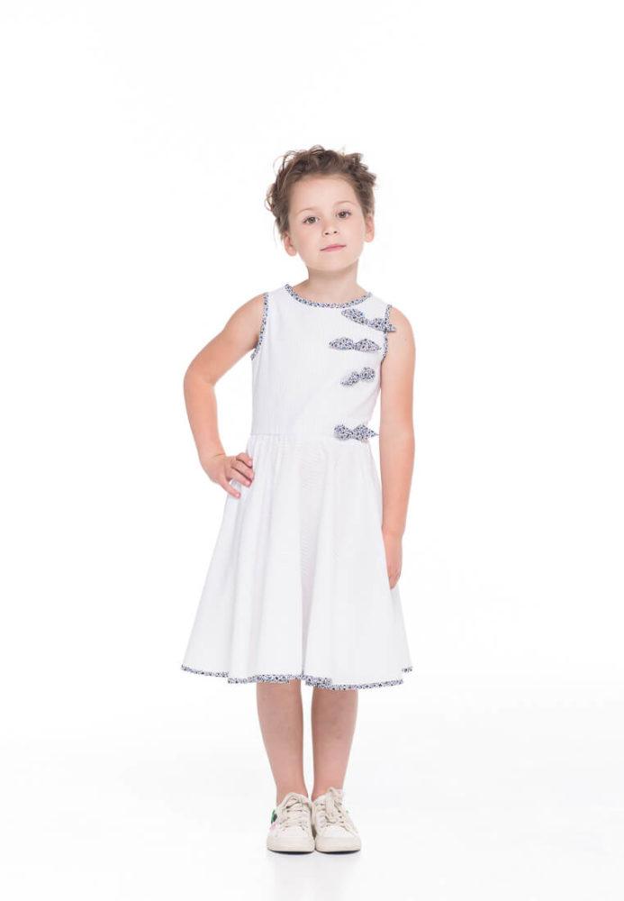 Летние детские платья в инетрнет магазине детских платьев Malyna