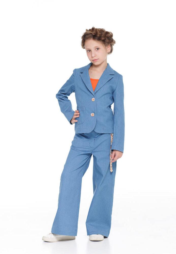 Купити брючний костюм на дівчинку можна в інтернет магазині одягу для дівчаток Malyna