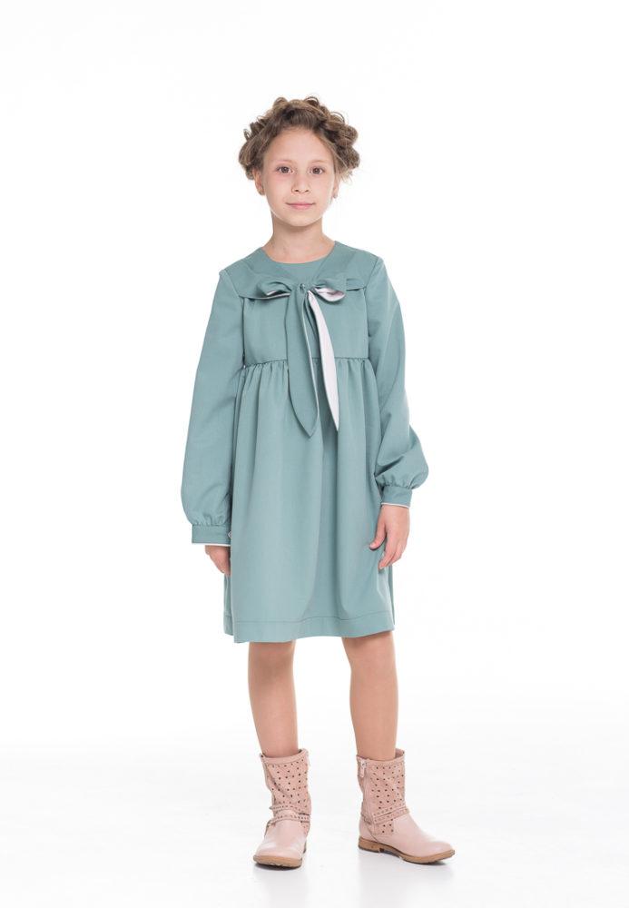 демисезонное платье на девочку