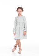трикотажное платье на девочку с белым бантиком на спинке - интернет магазин детских платьев
