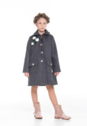 стильное пальто для девочек